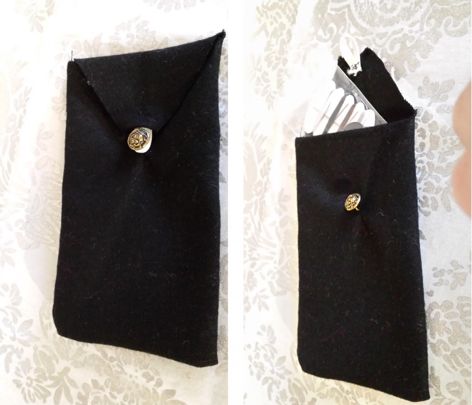 Tasche für Unterwegs Schwarz