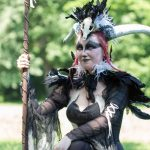Wave-Gotik-Treffen 2016 - Dämon in White